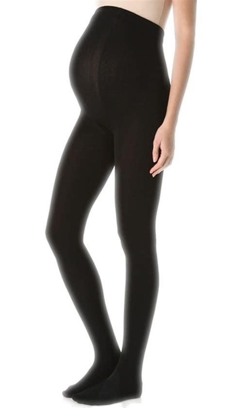 comfortable tights 2 pairs 40 denier black opaque comfortable maternity