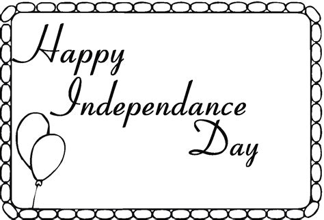 independence day coloring pages printable indulgence of freedom of the independence day 20