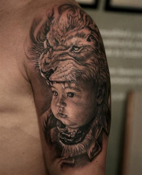 lion headdress tattoo headdress by stefano alcantara tattoos