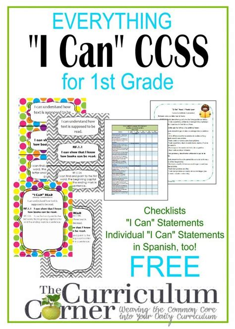 1000 Images About Common Core On Pinterest Common Core | first grade common core math skills checklist 1000
