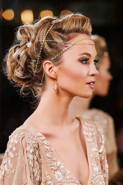 glamorous hairstyles images beautiful hair accessories the haircut web