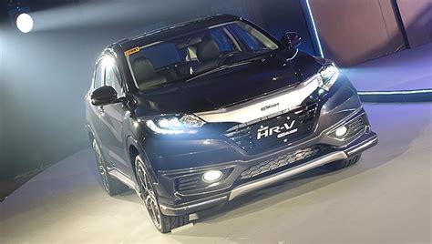 List Garnish Bumper Depan Honda Brv Br V new honda hr v mugen modulo packages now available