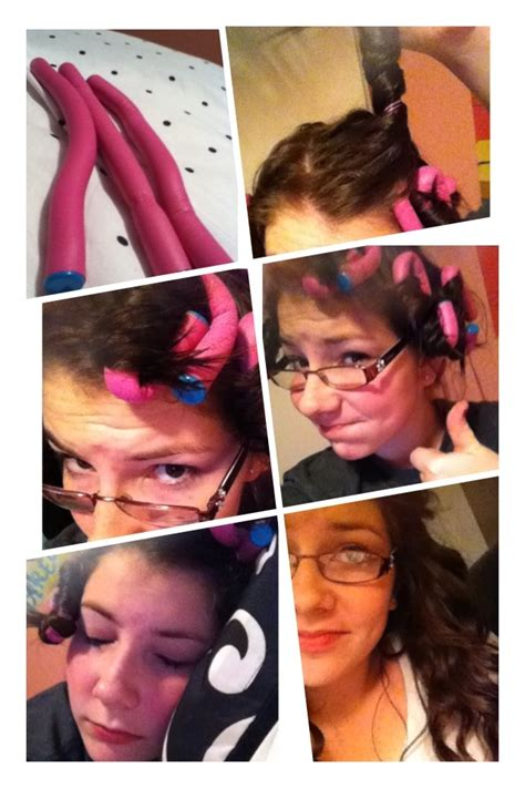easy hairstyles before bed before bed taylor swift curls get conair foam curlers