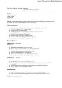 Call Center Manager Description by Call Center Manger Resume