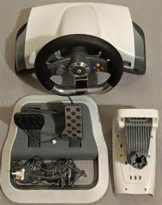 Microsoft Steering Wheel And Pedals Xbox 360 Microsoft Xbox 360 Wireless Racing Steering Wheel And