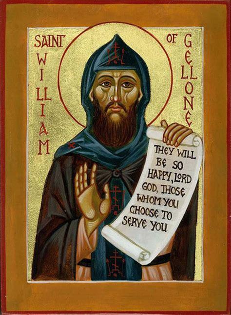 St Wiliam icwwilliamg orthodox st william of gellone icon st
