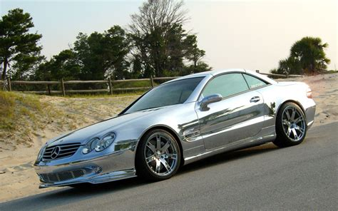 renntech chrome mercedes sl600 photo 1 944