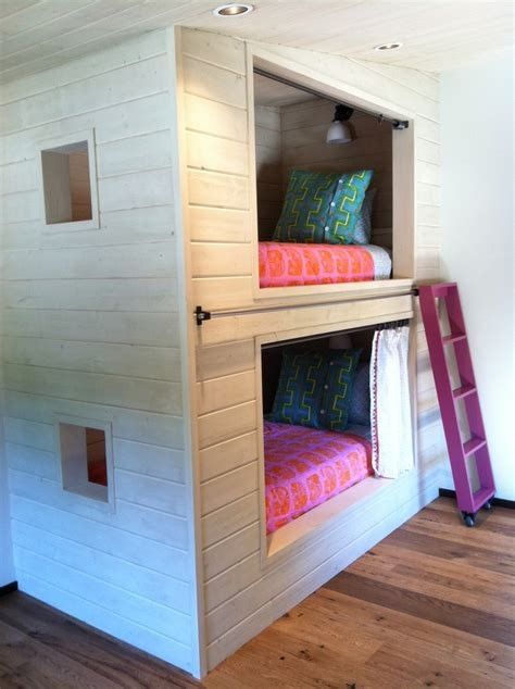 A Very Cool Bunk Bed Design I Did For One Of My Favorite Really Cool Bunk Beds