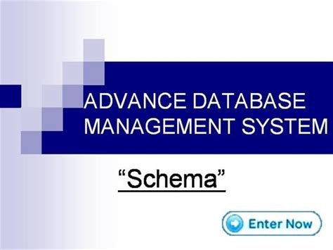 Database Management System Ppt For Mba by Advance Database Management System Authorstream