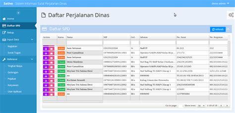 tutorial membuat aplikasi berbasis web dengan php aplikasi pejalanan dinas dengan php sedot code php free