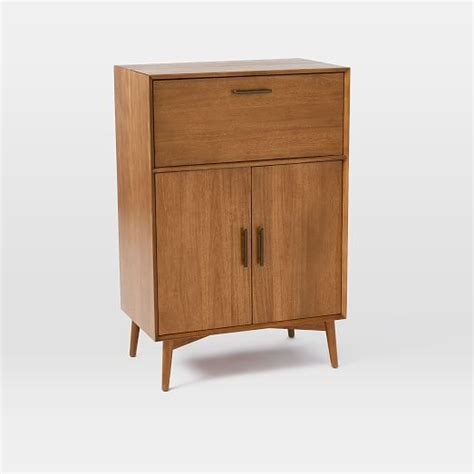 mid century bar cabinet large mid century bar cabinet large west elm