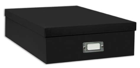 Pet Jumbo 75 X 75 pioneer jumbo scrapbook storage box black 14 75 inch x