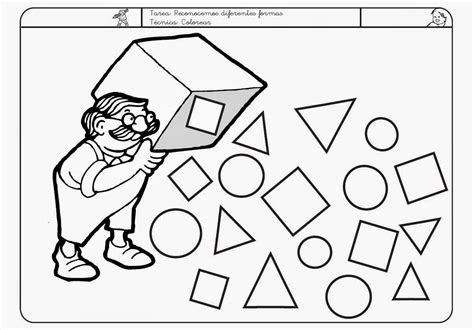 imagenes figuras geometricas para colorear dibujos para colorear formas geometricas