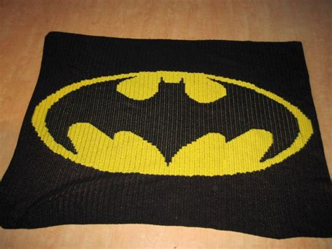 crochet pattern batman logo batman logo blanket crochet projects pinterest