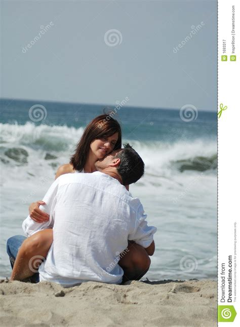 photography lovers lovers on the beach stock image image of woman enjoy