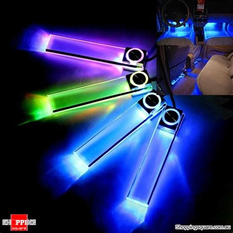 Shopping For Decorative Lights by 4 In 1 Car Charge Led Interior Decoration Floor Decorative