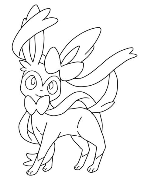 coloring pages pokemon roggenrola drawings pokemon sylveon lineart by jaidenneo5x on deviantart