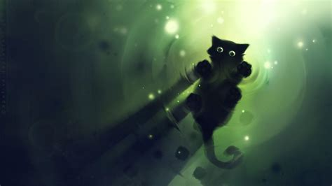 anime kitten hd wallpaper 18636 baltana cartoon cat wallpapers wallpaper cave