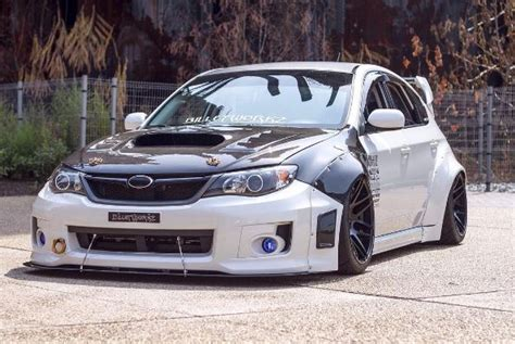 subaru nissan subaru wrx with nissan skyline gt r engine is the