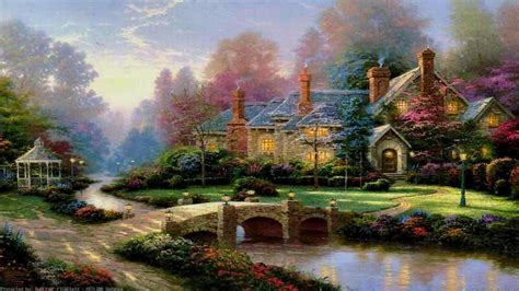 disney wallpaper thomas kinkade thomas kinkade disney wallpaper 183