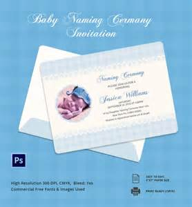 sle invitation to a naming ceremony wedding