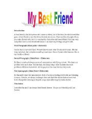 Describe Your Best Friend Essay by Essays On My Best Friend Essay On My Best Friend Preservearticles