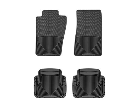 weathertech 174 all weather floor mats 2002 2003 ford