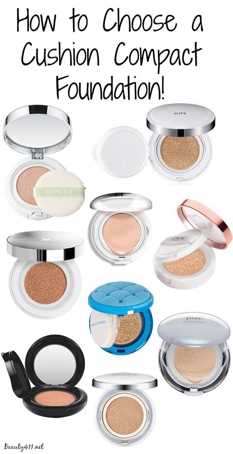 choosing a lshade how to choose a cushion compact foundation
