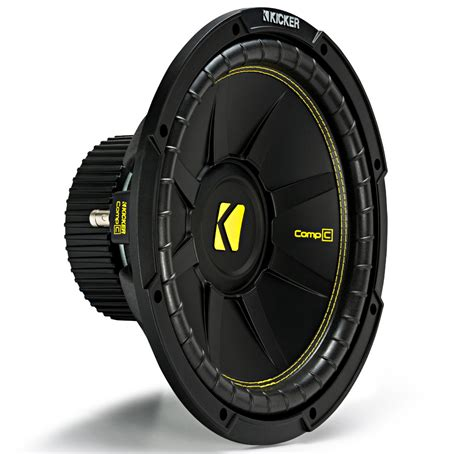 Kicker Sz 39 43 kicker cws12 car audio compc subwoofer single 4 ohm 12 quot sub 44cwcs124 brand new kic17 44cwcs124