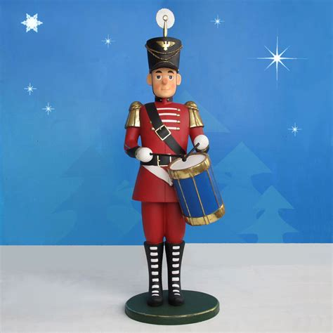 huge toy soldier drummer 7 ft giant nutcrackers