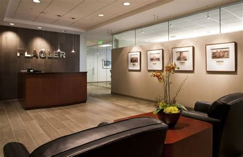 corporate office decor financial office lobby relocates to deerwood north