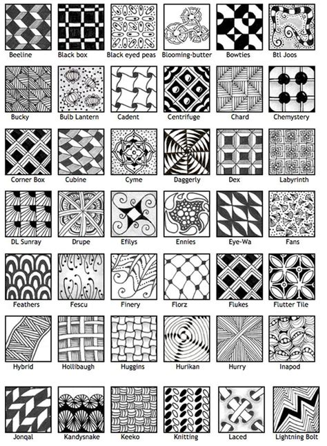 doodle patterns meaning 25 best ideas about zentangle for beginners on