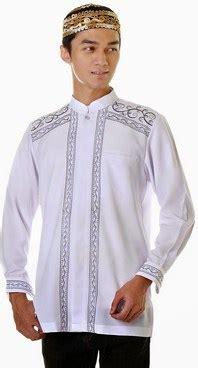 Kemeja Baju Koko Muslim Pria Exe Hitam Kombinasi Batik 1 2 21 contoh gambar model baju muslim pria terbaru 2015