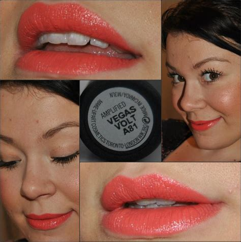 Lipstick Mac Vegas Volt mac vegas volt on swatch things to buy