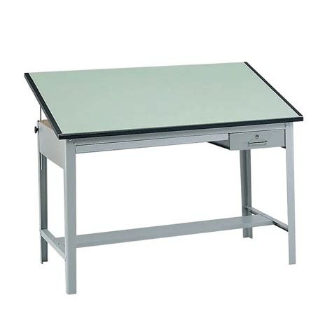 How To Use A Drafting Table Safco Precision Drafting Table 72 Quot W X 37 5 Quot D 3962gr And 3953 Engineersupply