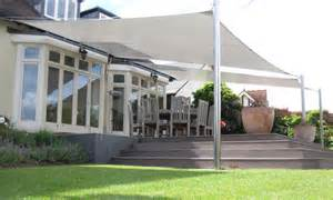 sail shaped awnings garden canopies custom made to the highest specification