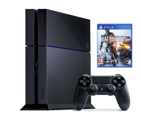 ps 4 console ps4 playstation 4 500gb console with battlefield 4