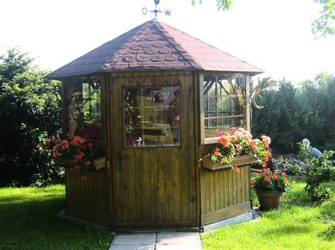 Kleiner Gartenpavillon ferienhaus hortensia blankensee mecklenburgische