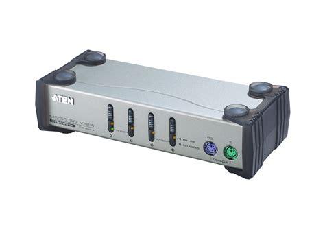 Kvm Switch 2 Port Ps 2 4 port ps 2 vga kvm switch cs84a aten desktop kvm switches