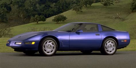 is the 1991 corvette more 80s than any other car