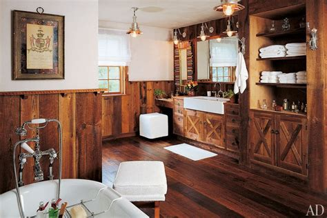 barn inspired rustic home decor inspiration photos living rooms wainscoting above fireplace popideas co