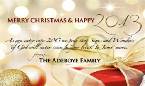 pastor adeboye wife release family christmas card  special message  naijagistscom