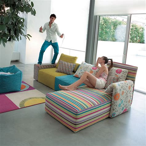 Colorful Living Room Furniture Colorful Sofa Set Designs Iroonie