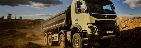 volvo fmx tridem steerable multi axles volvo trucks