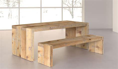 mesa comedor denver de madera centenaria en