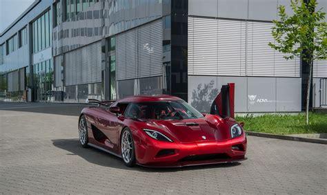 custom koenigsegg koenigsegg agera r hypercar sits down on custom luxury