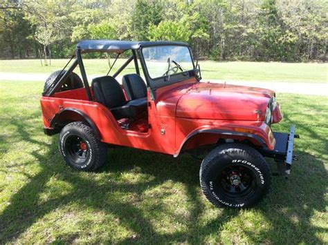 1971 Jeep Cj5 Buy Used 1971 Jeep Cj5 Completely Original Only Minor