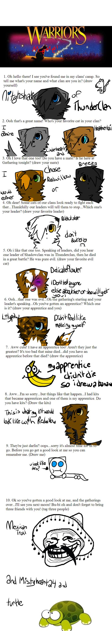 Warrior Cats Meme - warrior cats meme yeah warrior cats memes dogs being basic