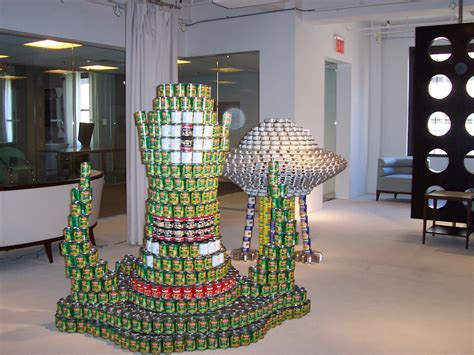 simple canstruction ideas canstruction tips related keywords suggestions