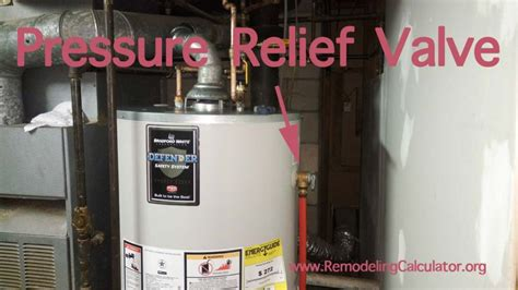 tankless water heater leaking from relief valve how to repair replace broken pressure relief valve on a